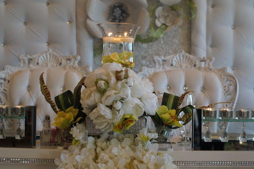 Wedding white in antique