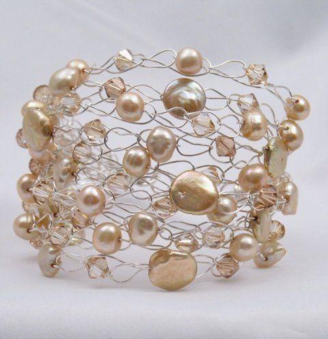 Tmx 1336423180377 Bridallookbookchampagnebracelet Iowa City wedding jewelry