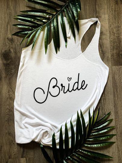 Bride Bachelorrette Tank