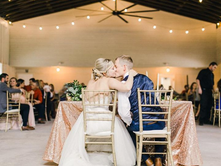 Tmx 11 18 18 Romantic Wedding At The Mulberry A Chair Affair Gold Chiavari Chairs Sweetheart Table Kiss 51 181679 Orlando, Florida wedding rental