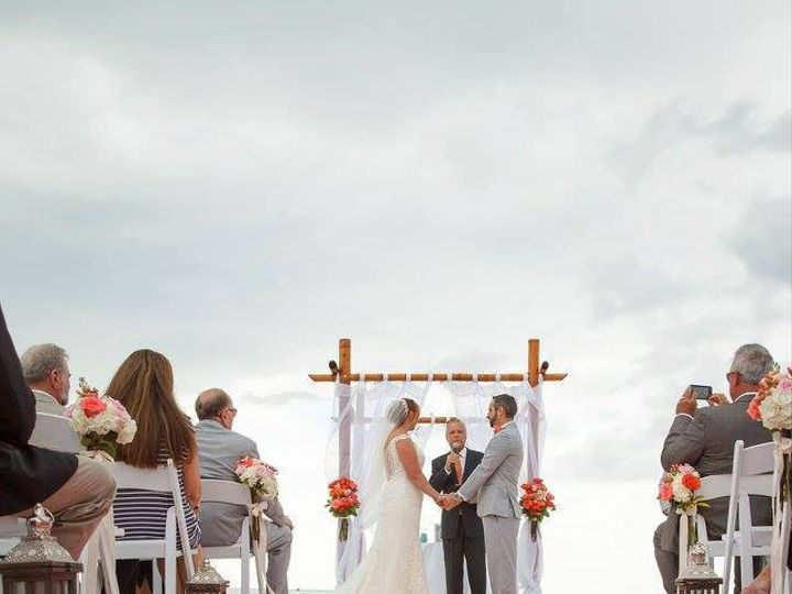 Tmx Color Of The Year Coral Colorful Wedding On The Beach Ceremony 51 181679 Orlando, Florida wedding rental