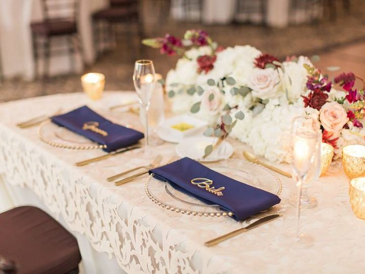 Tmx Feb Update Gold Bella Collina Wedding A Chair Affair Belmont Chargers Brushed Gold Flatware 51 181679 V1 Orlando, Florida wedding rental