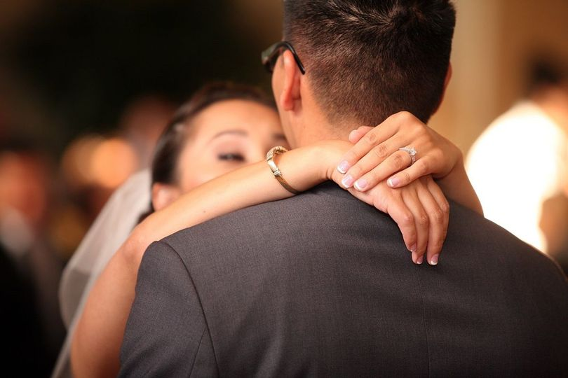 A first dance special song for the bride and groom