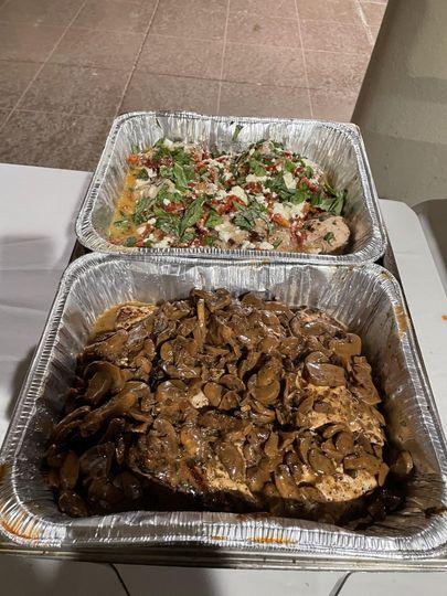 Chicken Bryan &Chicken Marsala