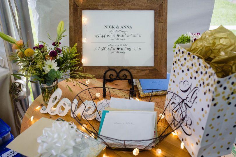 Beautiful table display