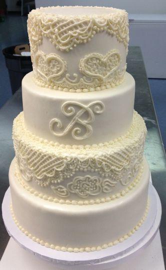 Frost Bake Shop Memphis Wedding Cakes