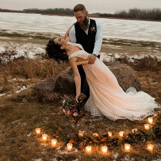 Moody wedding