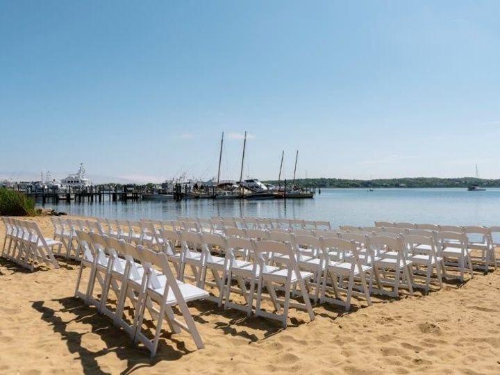 Tmx 1521035515 4d03f494819d2903 1521035514 B9510fd539979270 1521035511950 7 BeachWedding Setup Montauk, NY wedding venue
