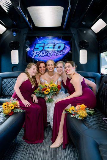 Bridal Party Bus