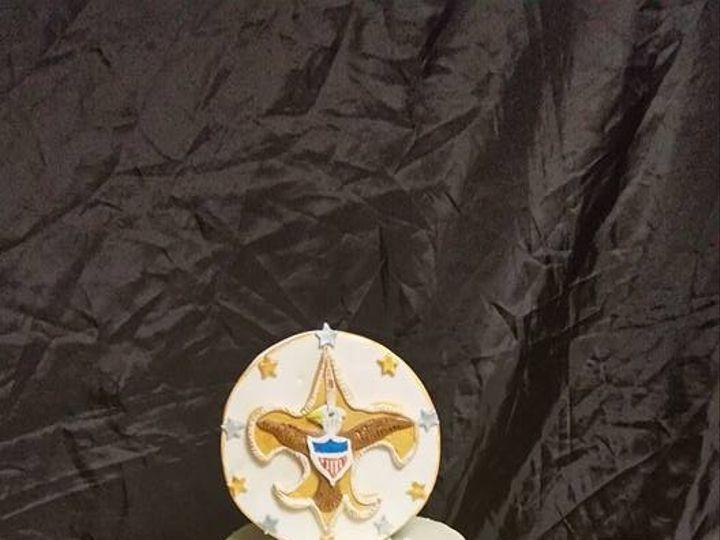 Tmx 1487347911967 Boy Scout Eagle Cake Berkley, Rhode Island wedding cake