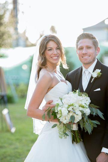 The newlywed couple