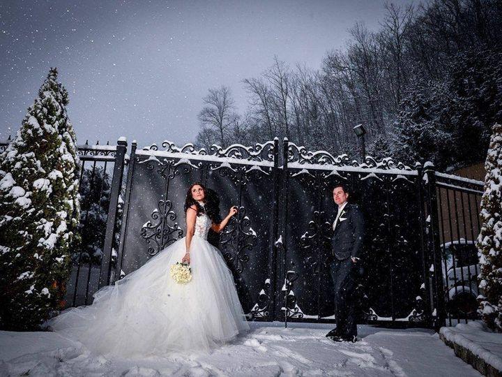 Tmx Patio Snow Shot 51 196679 Mahopac, New York wedding venue