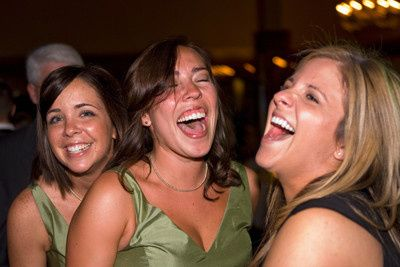 Bridesmaids Having A Great Time on the Dance Floor