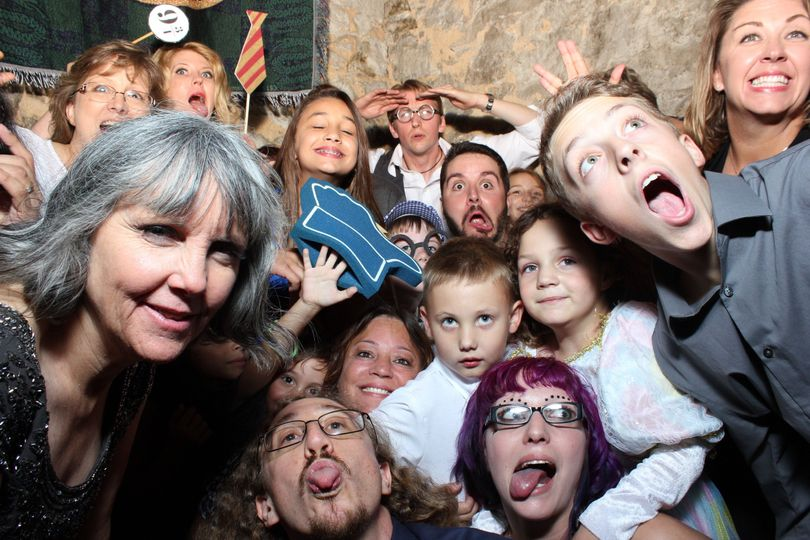 How Many Can You Really Get In A Photo Booth? You Count.