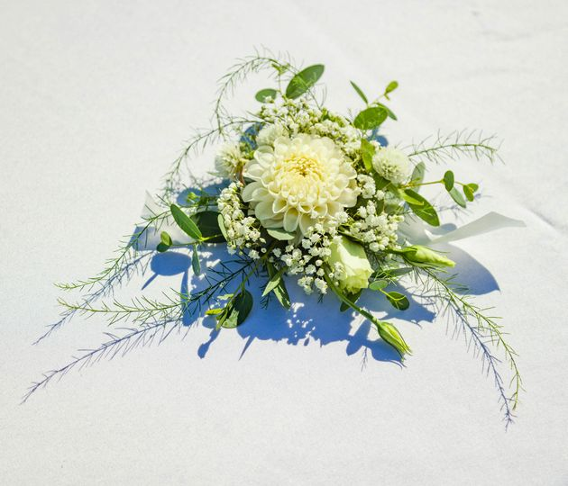 Bouquet with elegant flowers