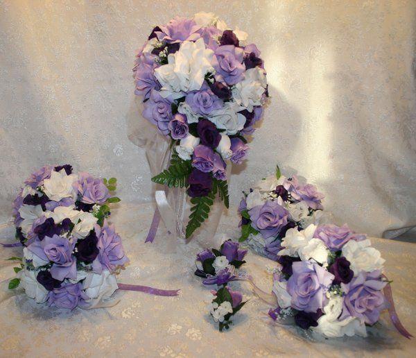 Bridal Silk Wedding Flowers Flowers Glenwood IA WeddingWire