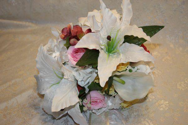 Bridal silk wedding flowers flowers pacific junction ia bridal silk wedding flowers ebayflowers1563 mightylinksfo