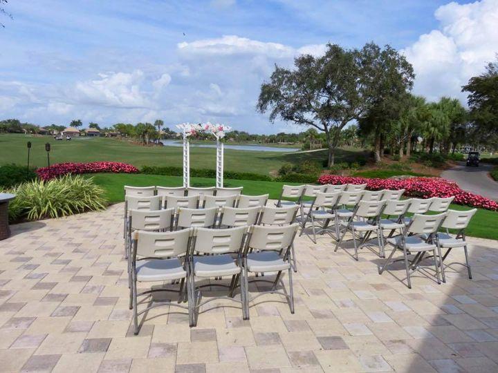 Copperleaf Golf Club - wedding ceremony setup