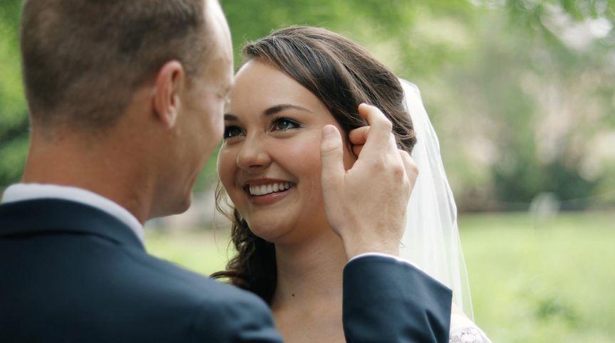 Flourish Films - The bride and groom