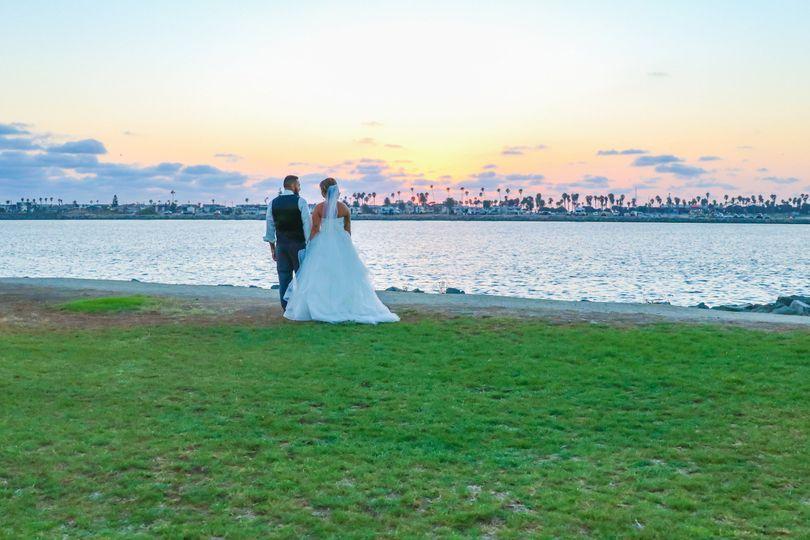 Wedding at Hyatt Regency Mission Bay Spa and Marina, San Diego, CA