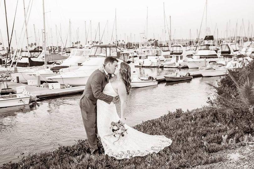 Wedding at Tom Ham's Lighthouse, San Diego, CA