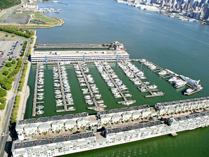 Tmx 1421940972407 Aerial With Port Imperial View Weehawken, NJ wedding venue