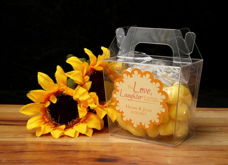 favor lemon flowers