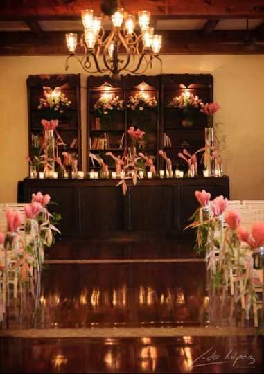 Glamorous event space