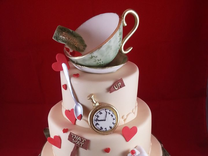 Tmx 1381636224040 Alice In Wonderland Cake Astoria, New York wedding cake