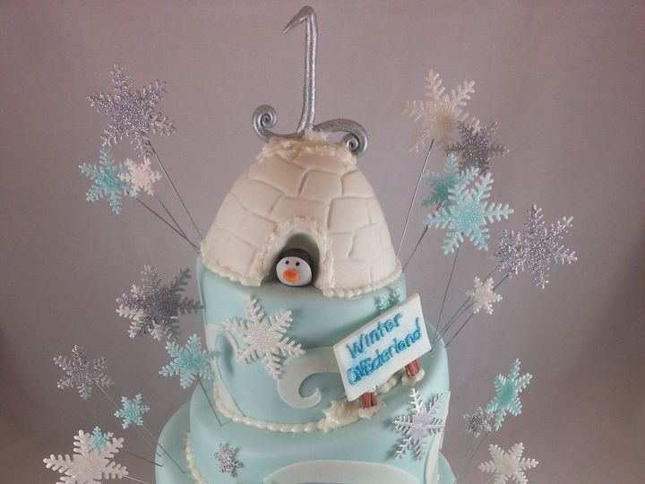 Tmx 1387130607590 Winter Wonderland  Astoria, New York wedding cake