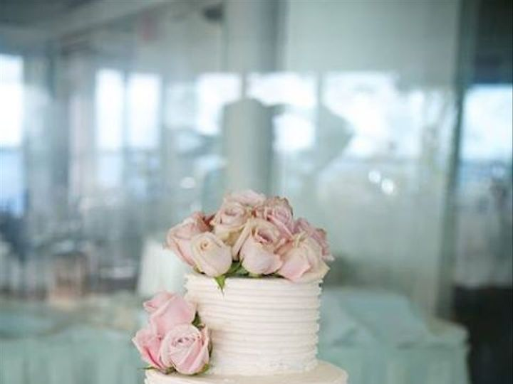 Tmx 1414167893771 Striped Buttercream Wedding Cake Astoria, New York wedding cake