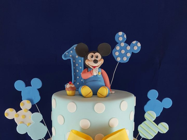 Tmx 1467433599088 Baby Mickey Cake Astoria, New York wedding cake