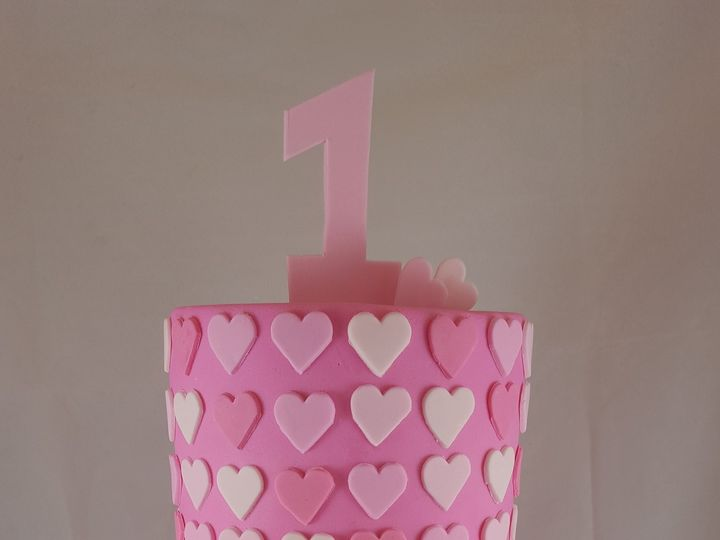 Tmx 1467433682144 I Heart Cake Astoria, New York wedding cake