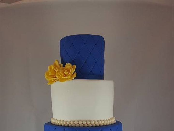 Tmx 1469464886803 Navy And Yellow Military Cake Astoria, New York wedding cake