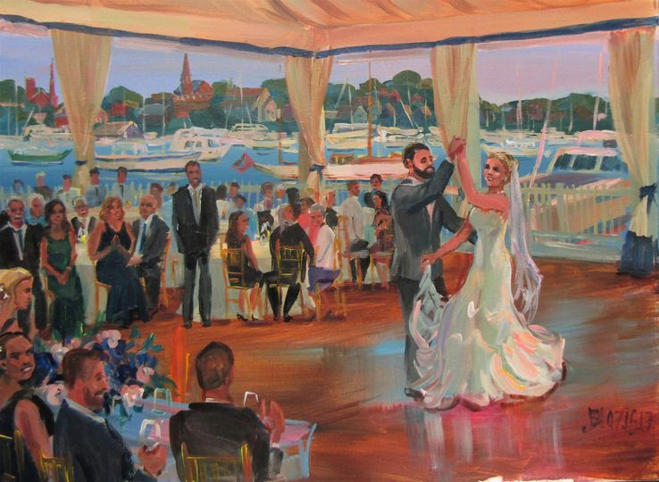 16 17 wedding painting