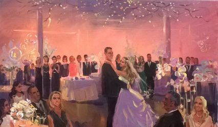 Wedding Painting by Vesna