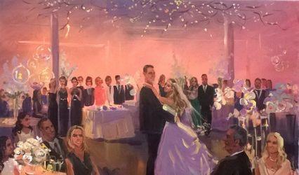 Wedding Painting by Vesna
