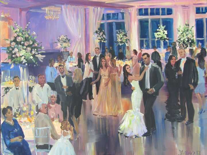 Tmx 1511306685388 Wedding Panting In Lakeview Pavilion Foxborough Ma Attleboro, MA wedding favor