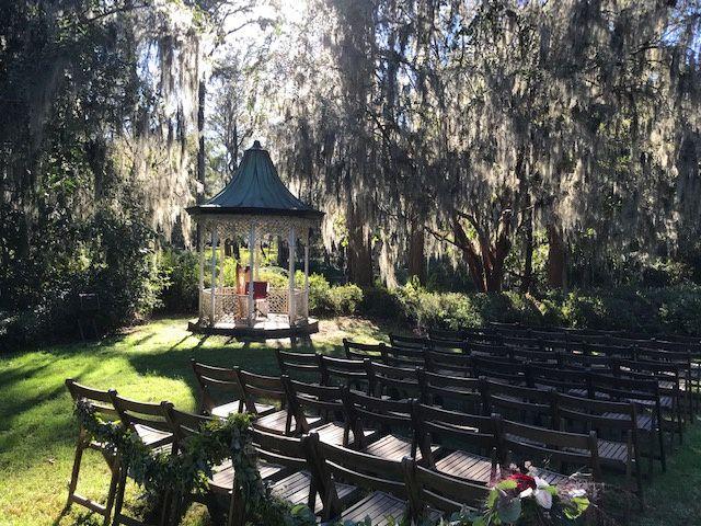 Wedding at Magnolia Gardens