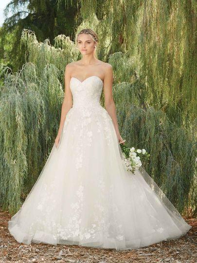 A-line sweetheart dress