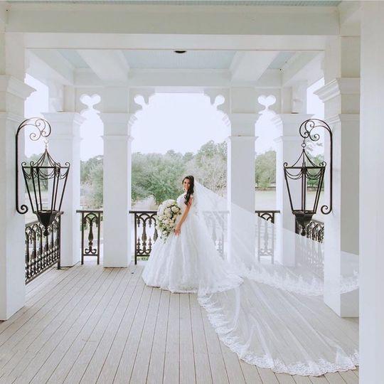 Manor Front Balcony