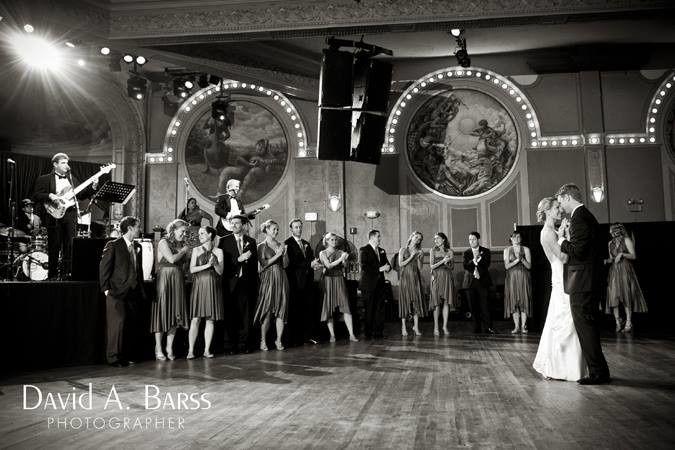 crystal ballroom wedding