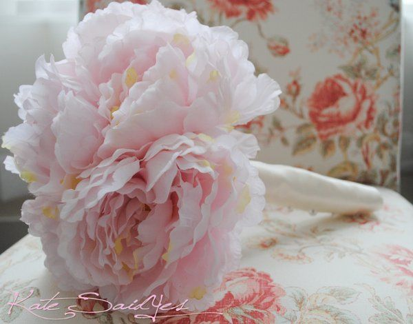This classic Pink Peony Wedding Bouquet is perfect for all of your bridesmaids. Bouquets are...