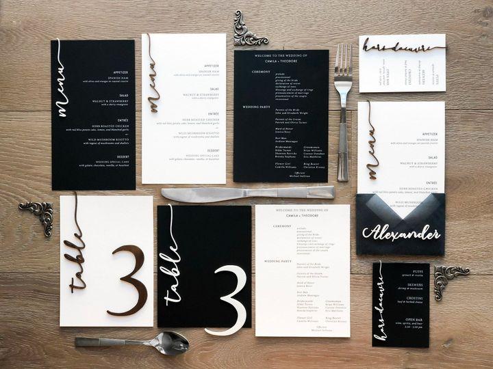 Tmx B W Overall Layout 51 1873779 1572376757 Yorba Linda, CA wedding invitation