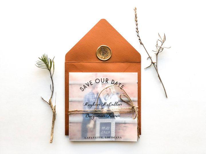 Tmx Cover On With Envelope 51 1873779 1572376950 Yorba Linda, CA wedding invitation