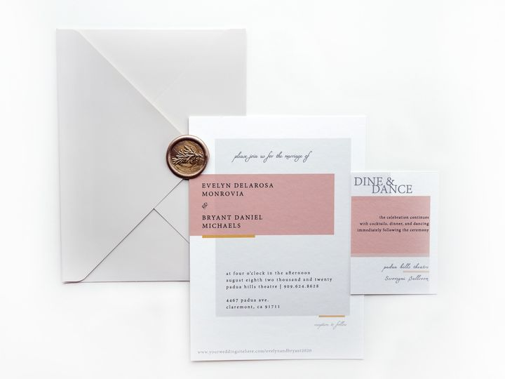Tmx Invitations Details 51 1873779 1567699990 Yorba Linda, CA wedding invitation