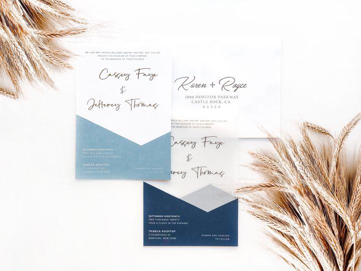 Tmx Invite W Envelope 51 1873779 157807068628765 Yorba Linda, CA wedding invitation