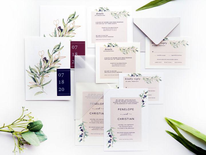 Tmx Layout 51 1873779 1567700168 Yorba Linda, CA wedding invitation