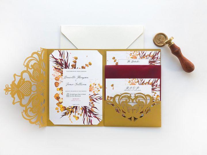 Tmx Pocket Fold Layout 51 1873779 1567700150 Yorba Linda, CA wedding invitation
