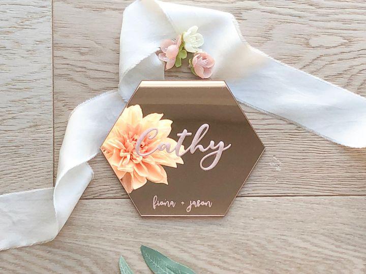 Tmx Rose Gold Solo 51 1873779 1572376870 Yorba Linda, CA wedding invitation